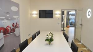 Besprechungszimmer im Showroom der Firma Joachim Bührle Industrievertretung